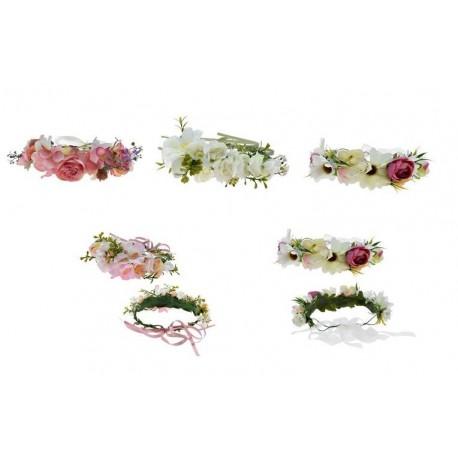 Tropical Multi Flower Headband