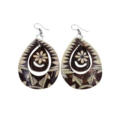 Hand Made Coconut Earrings