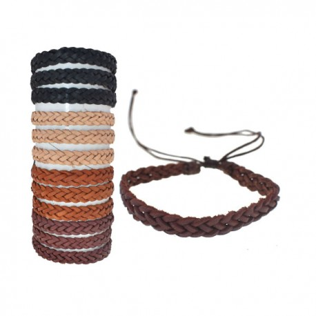 Hand Braided Leather Bracelet