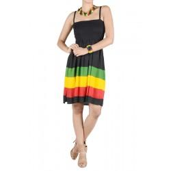 Rasta Short Dress