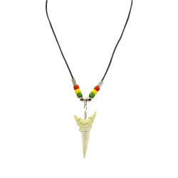 Faux Shark's Tooth Necklace