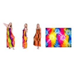 Tye Dye Beach Long Dress
