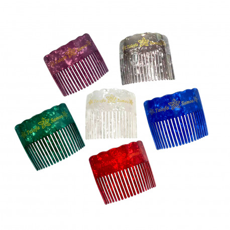 Faux Turtle Shell Hair Combs