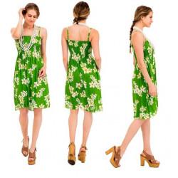 Women's Beach Dress - Flowers