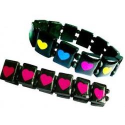Heart Wood Bracelet