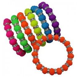 Neon Crystal Bracelet