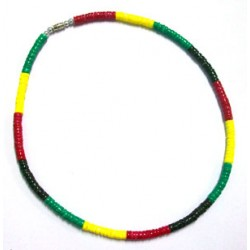 Rasta Shell Necklace