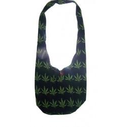 Green Leaf Shoulder Bag
