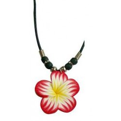 Fimo Flower Necklace