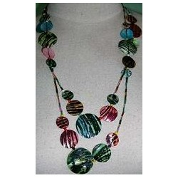 60 INCH Capiz Shell Necklace