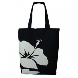 Hibiscus Flower Canvas Bag