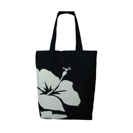Hibiscus Flower Canvas Bag
