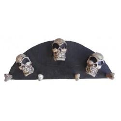Wood Hanger (Skull)