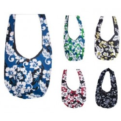 Hibiscus Flower Pattern Shoulder Bag