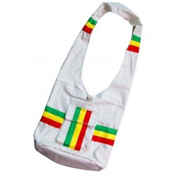 Rasta Color Bag - White