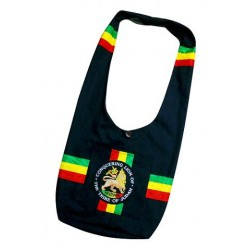 Black Rasta Bag - Lion of Judah