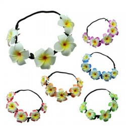 Foam Flower Elastic Head Band