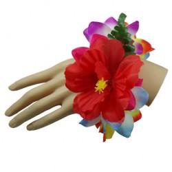 Rainbow Color Flower Bracelet/Anklet