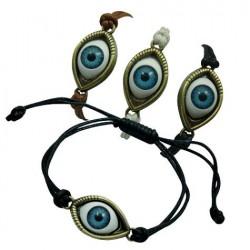 Eye Ball Pendant Bracelet