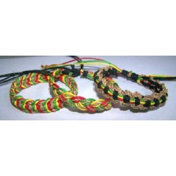 Abaca With Rasta Bracelet