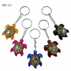 Turtle Pendant Key Chain