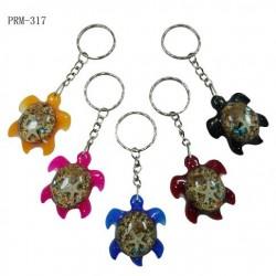 Turtle Pendant Key Chain