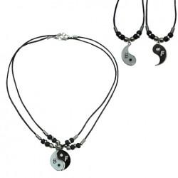 B.F Yinyang Pendant Necklace