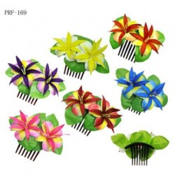 Double Tiare Flower Hair Comb