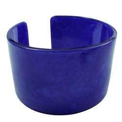 Royal Blue Faux Turtle Bangle