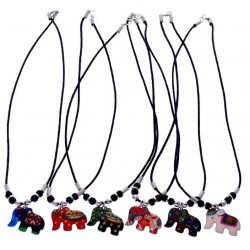 Fashion Elephant Pendant Necklace