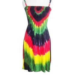 Rasta Tye Dye Women Dress