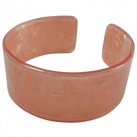 Peach Faux Turtle Bangle