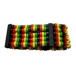 Wooden Rasta Bracelet