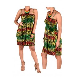 Rasta Woman Dress