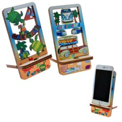 """""""CALIFORNIA"""" Cell Phone Holder/Display"""