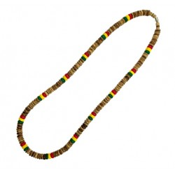 Rasta Coco Necklace