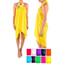 Plain Solid Colors Sarong