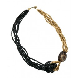 """32"""" Coco With Shell Pointed Necklace"""