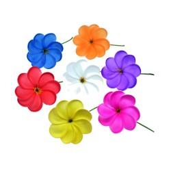 Plumeria Flower Hair Stick