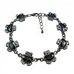 Teddy Bear Paua Shell Bracelet & Anklet