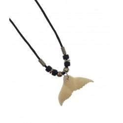 Whale Tail Pendant Necklace