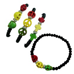 Rasta Color Bracelet