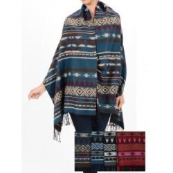Pashmina Aztec Shawl