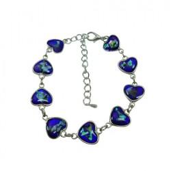 HEART Paua Shell Bracelet/Anklet