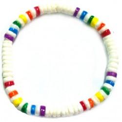 Shell Bracelet - Rainbow