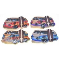 Beach Bus Surfboard Magnets