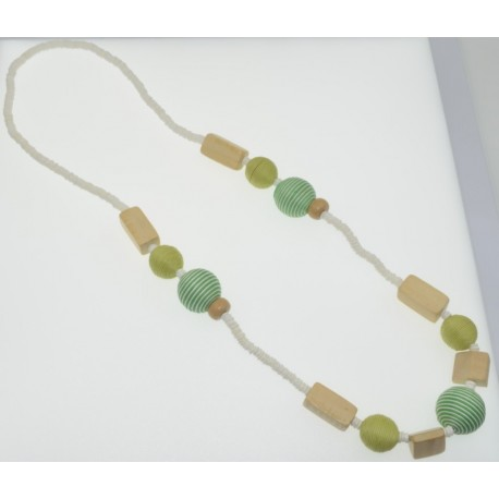 Clam Shell Long Necklace