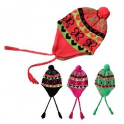 Colored Beanies - Butterfly Design - CASE
