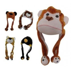 Animal Character Ear Flap Hat- CASE