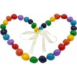 Rainbow Kukui Nut Necklace